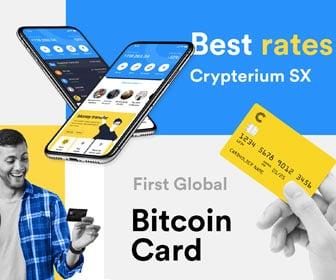 Crypterium Bitcoin Wallet!