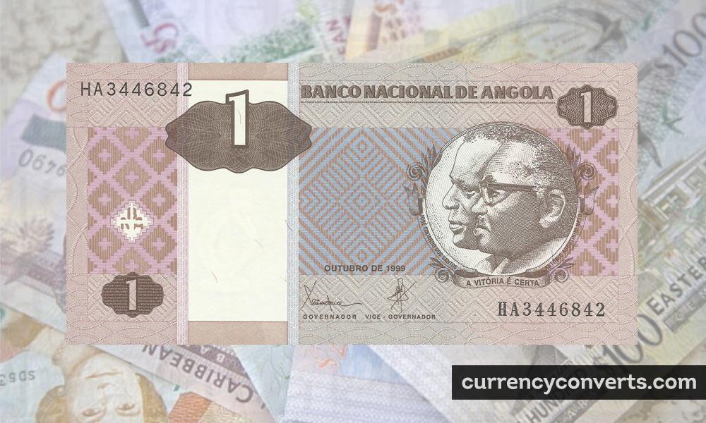 Angolan kwanza - AOA money image