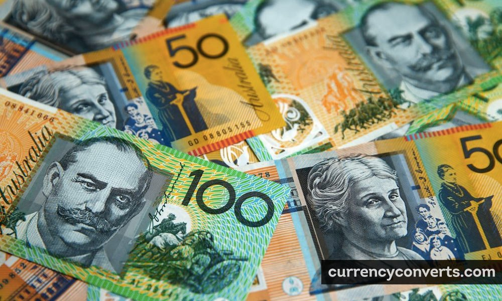 Australian Dollar AUD currency banknote image