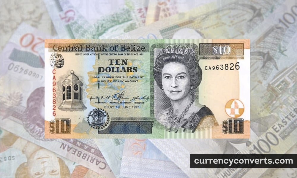 Belize Dollar BZD currency banknote image