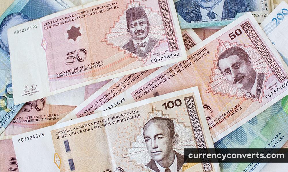 Bosnia and Herzegovina konvertibilna marka - BAM money image