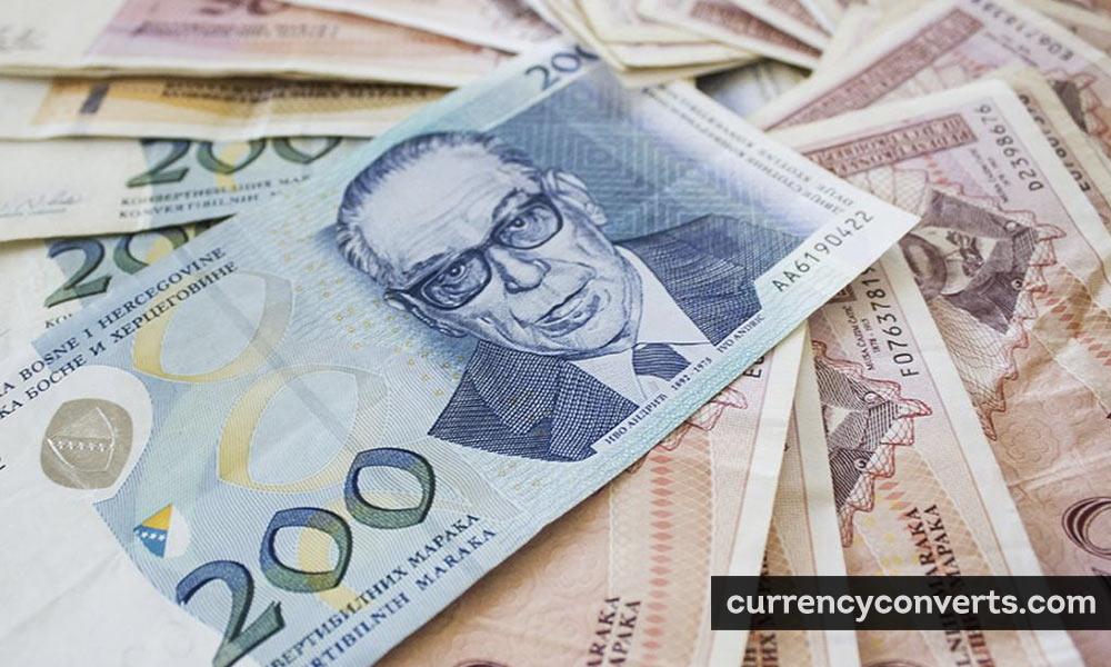 Bosnia-Herzegovina Convertible Mark BAM currency banknote image