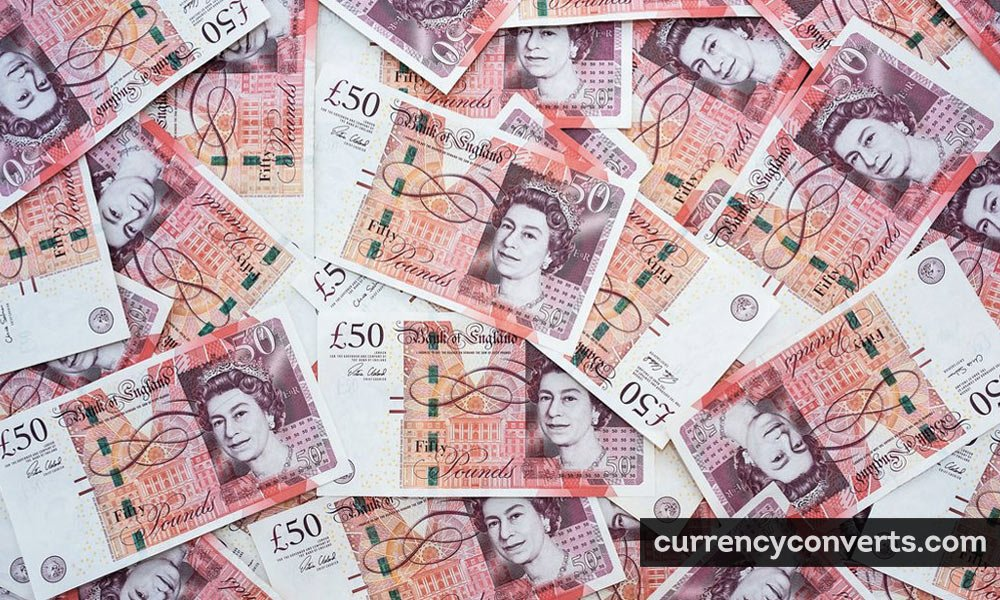 British Pound Sterling GBP currency banknote image