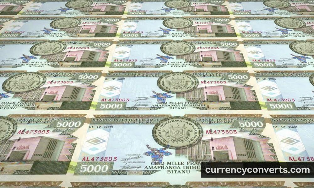 Burundi franc - BIF money image