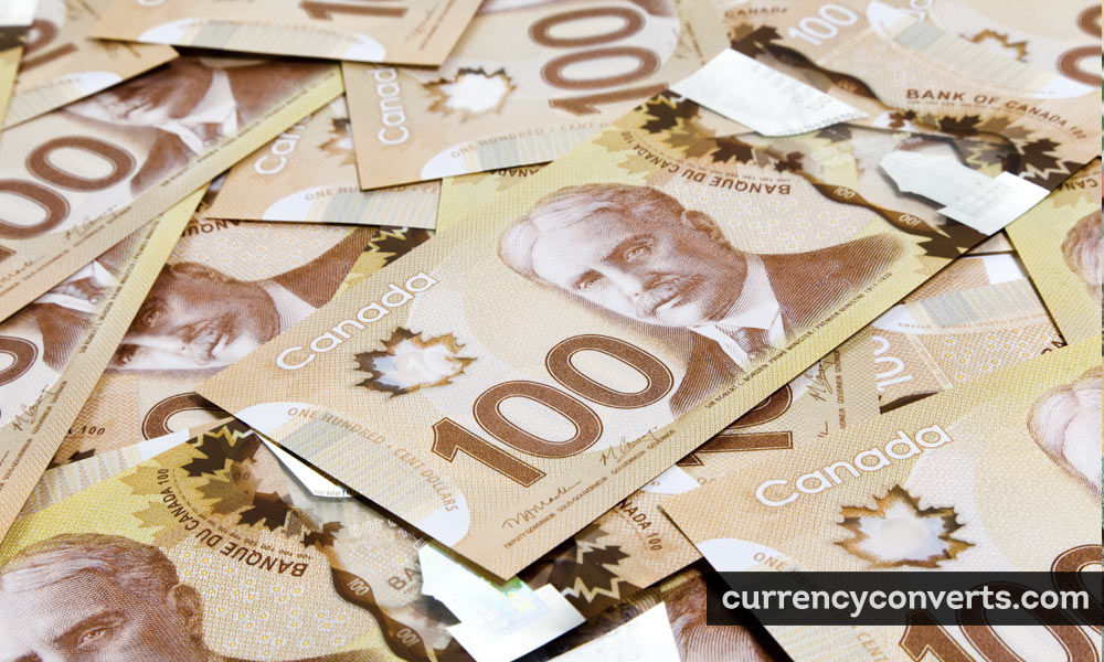 Canadian Dollar CAD currency banknote image