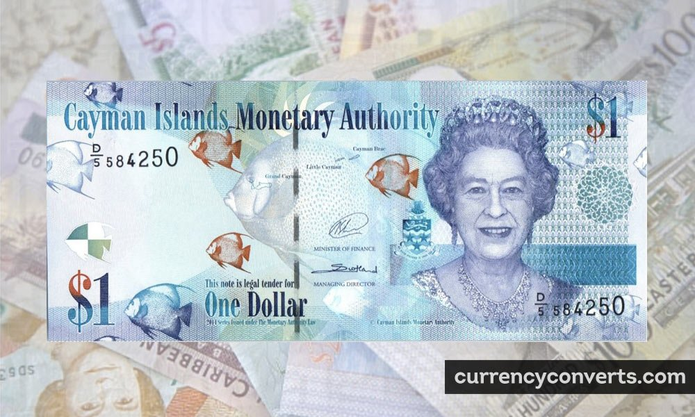 Cayman Islands Dollar KYD currency banknote image