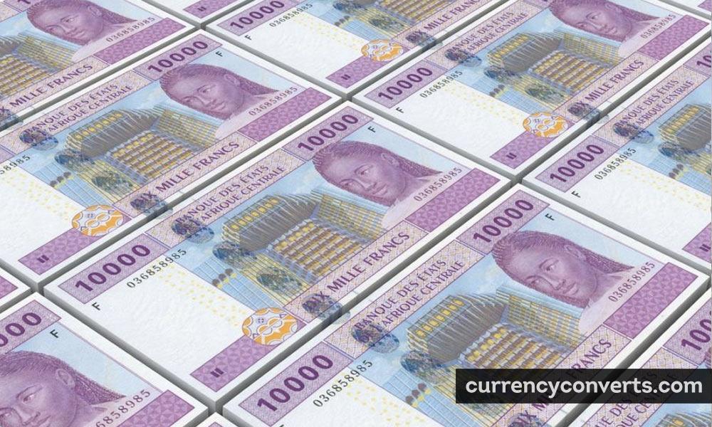Central African CFA franc - XAF money image