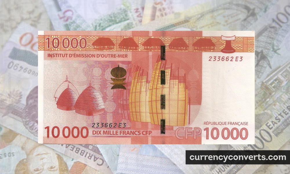 CFP Franc XPF currency banknote image
