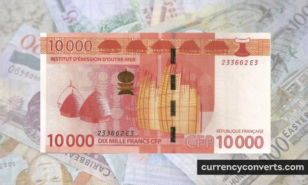 CFP franc - XPF money image