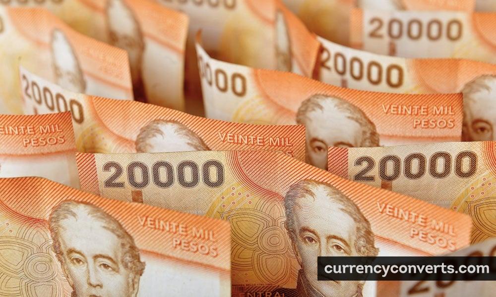 Chilean peso - CLP money image