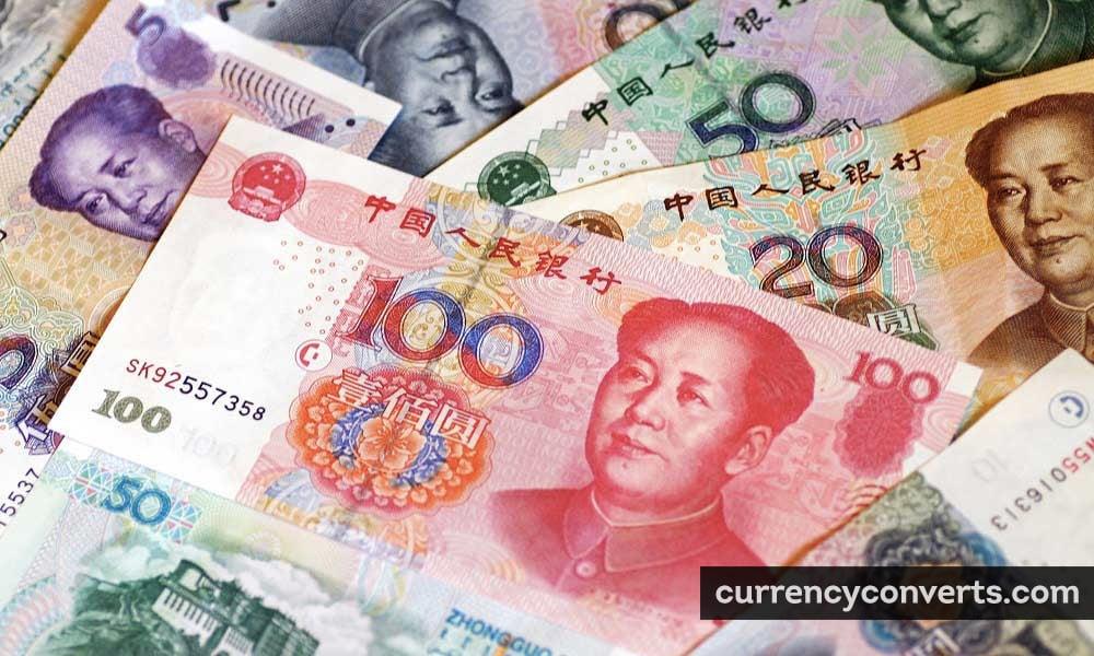 Chinese renminbi - CNY money image