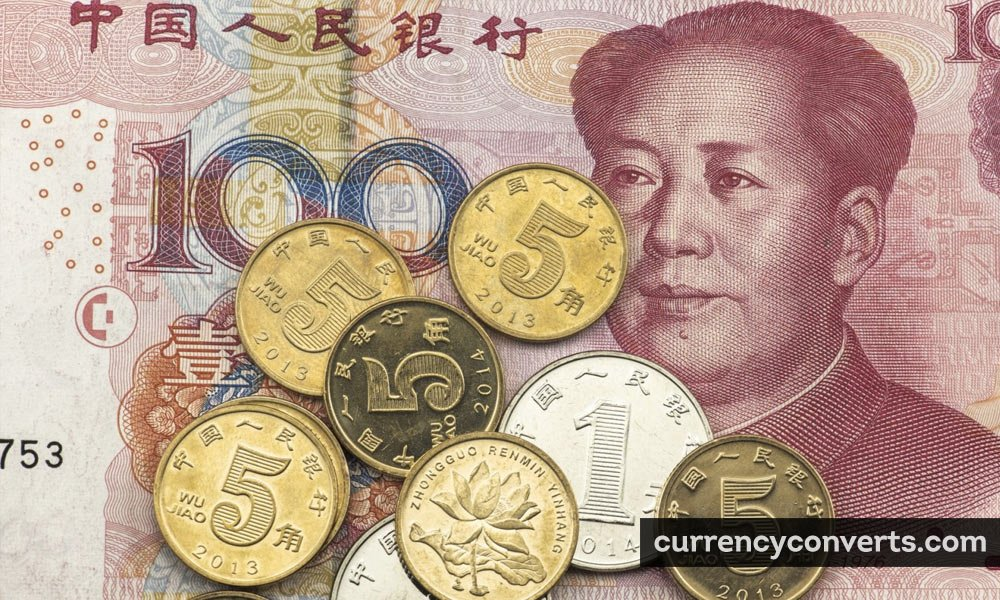 Chinese Yuan Renminbi CNY currency banknote image