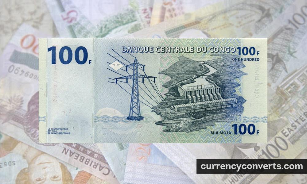 Congolese franc - CDF money image