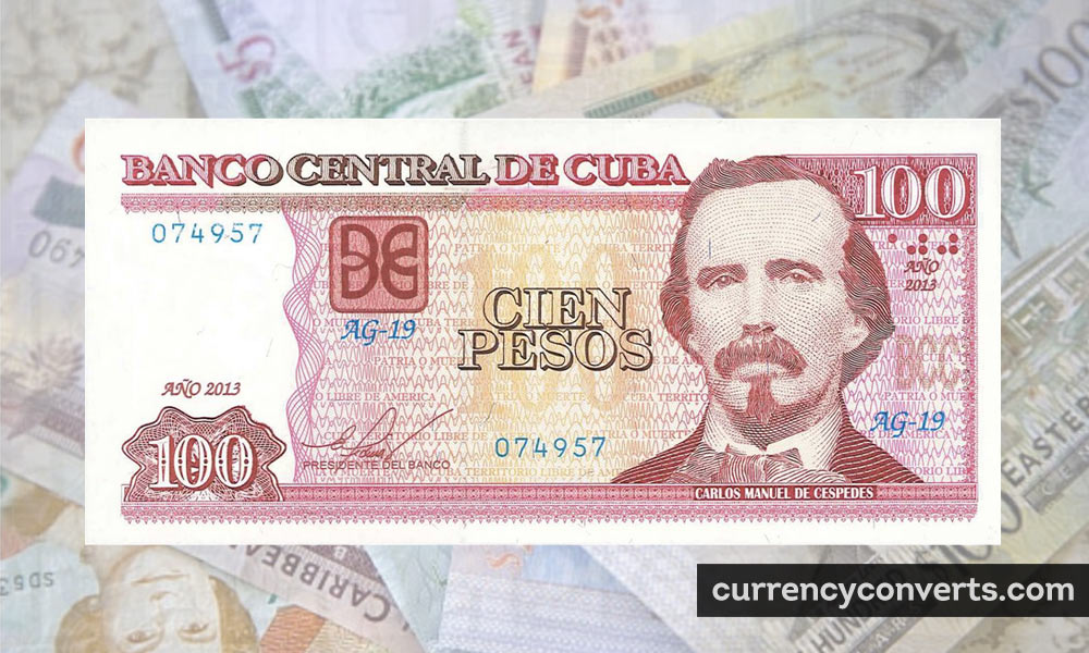 Cuban Convertible Peso CUP currency banknote image