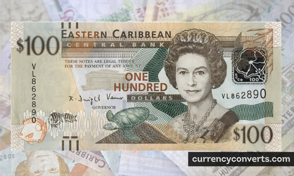 East Caribbean Dollar XCD currency banknote image