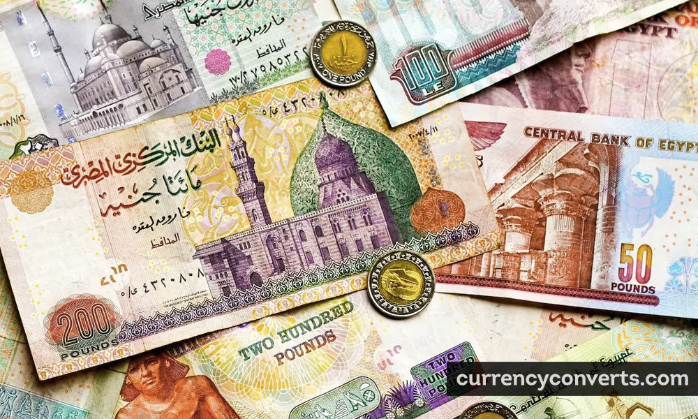 Egyptian Pound EGP currency banknote image