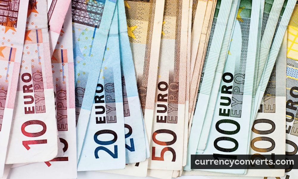 European euro - EUR money image