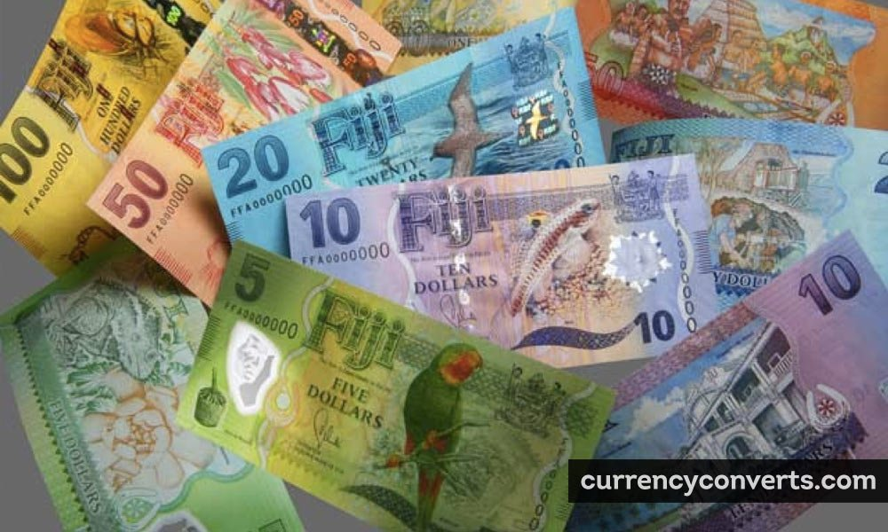 Fijian Dollar FJD currency banknote image