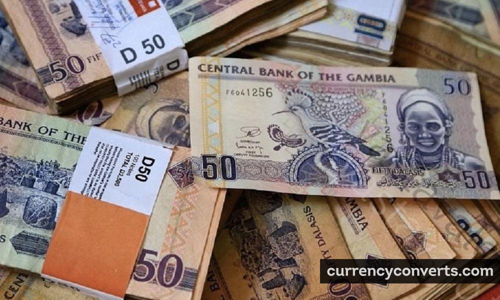 Gambian Dalasi GMD currency banknote image