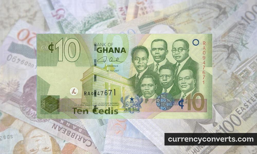Ghanaian Cedi GHS currency banknote image