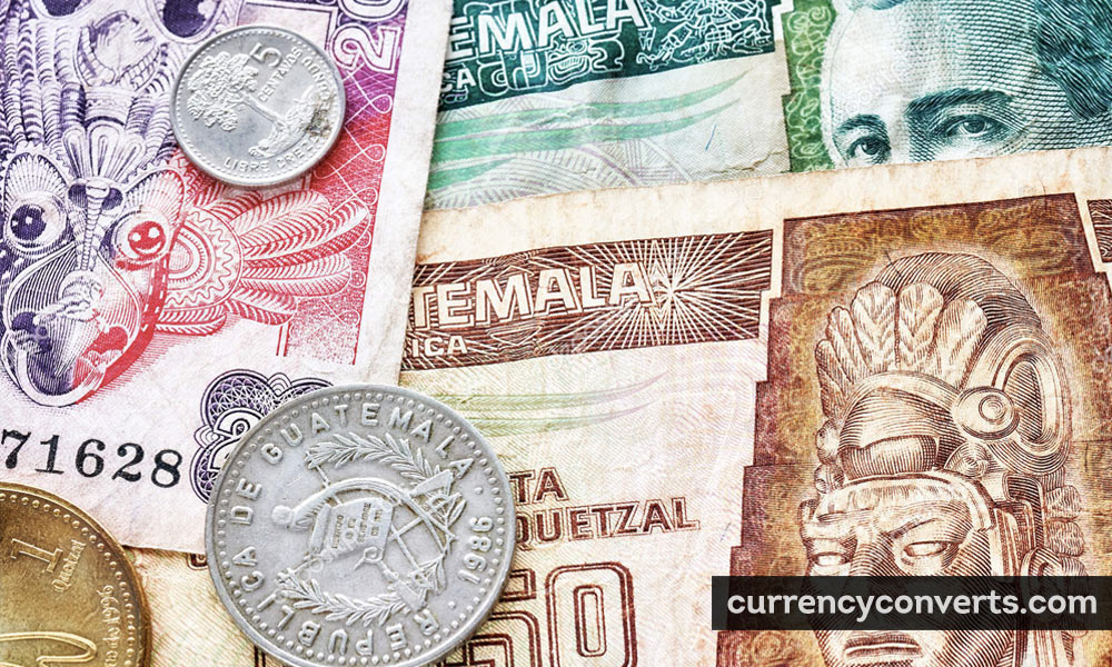 Guatemalan Quetzal GTQ currency banknote image