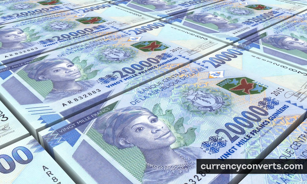 Guinean franc - GNF money image