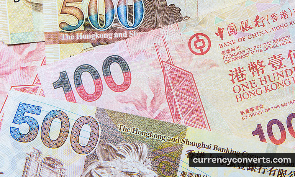 Hong Kong Dollar HKD currency banknote image