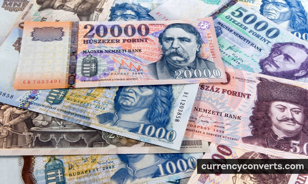Hungarian Forint HUF currency banknote image