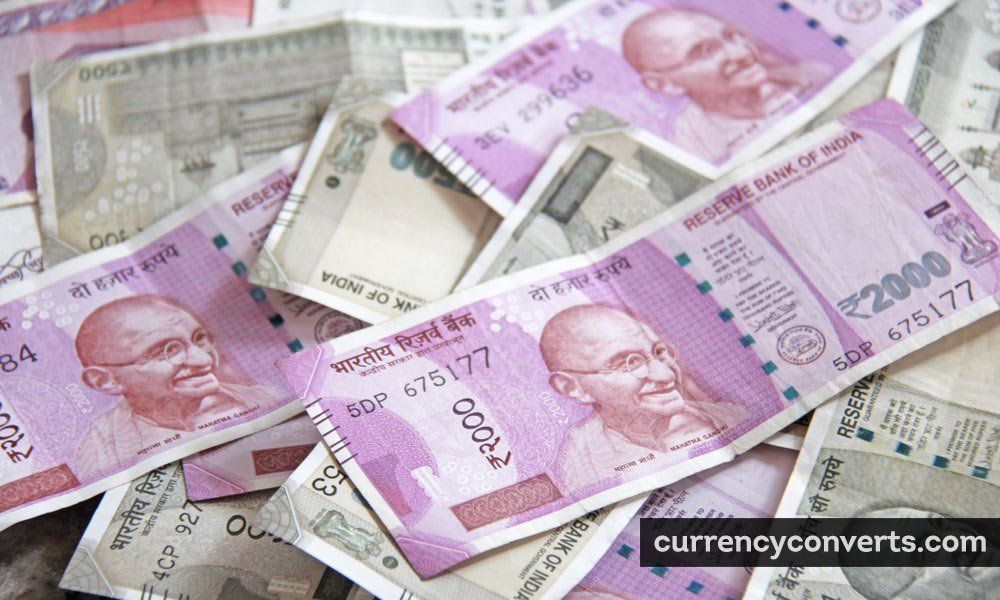 Indian Rupee INR currency banknote image