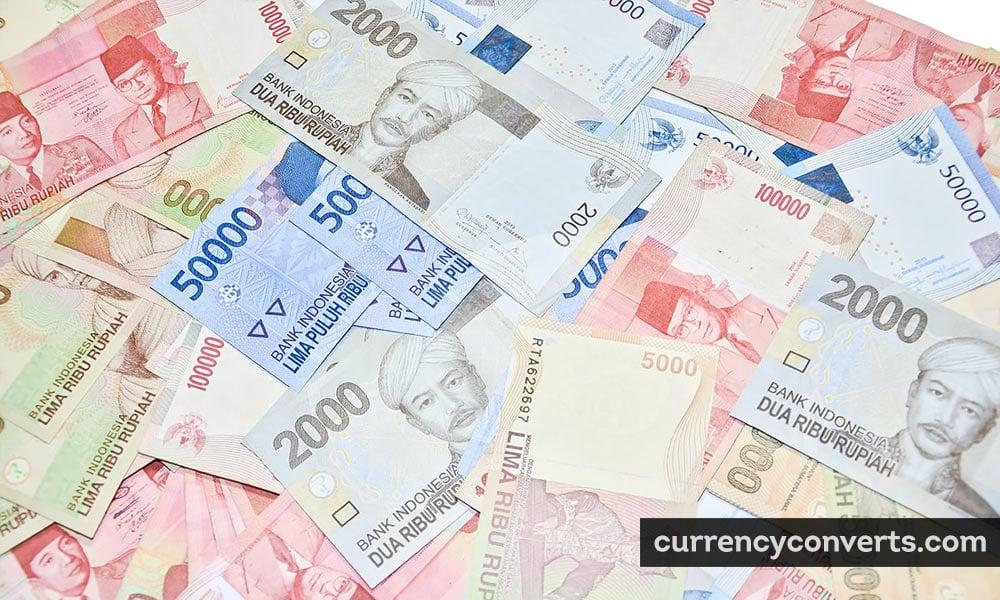 Indonesian rupiah - IDR money image