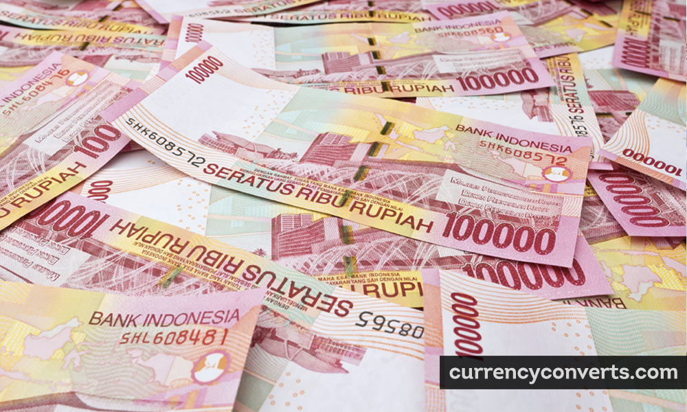 Indonesian Rupiah IDR currency banknote image