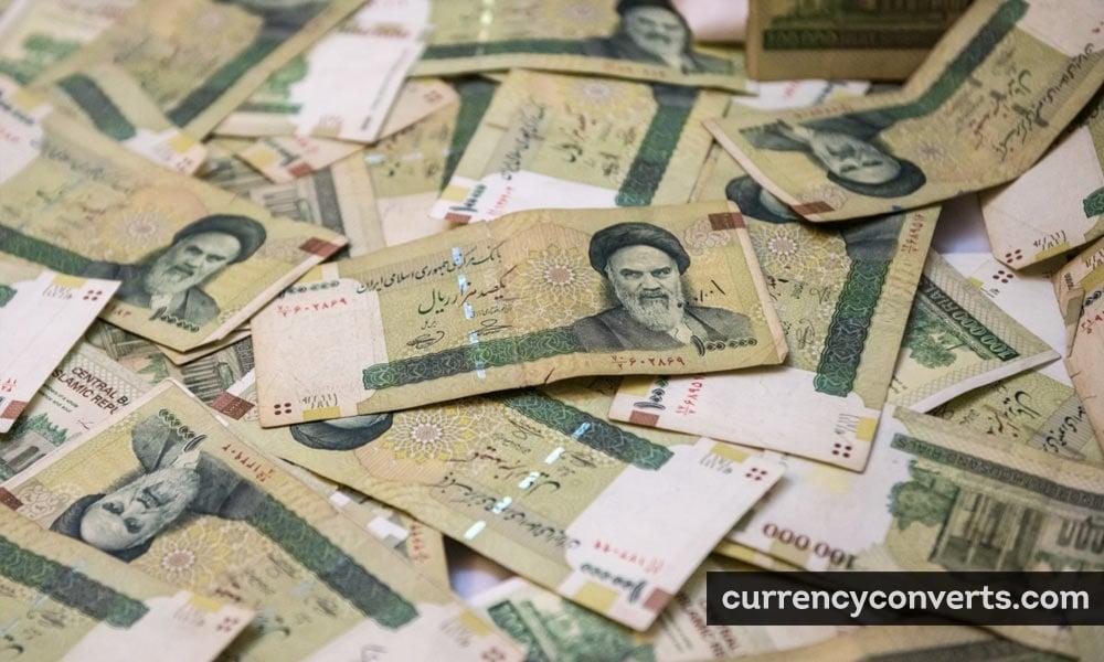 Iranian rial - IRR money image