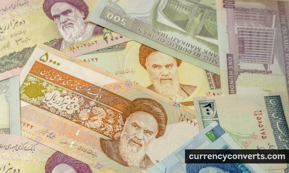 Iranian Rial IRR currency banknote image
