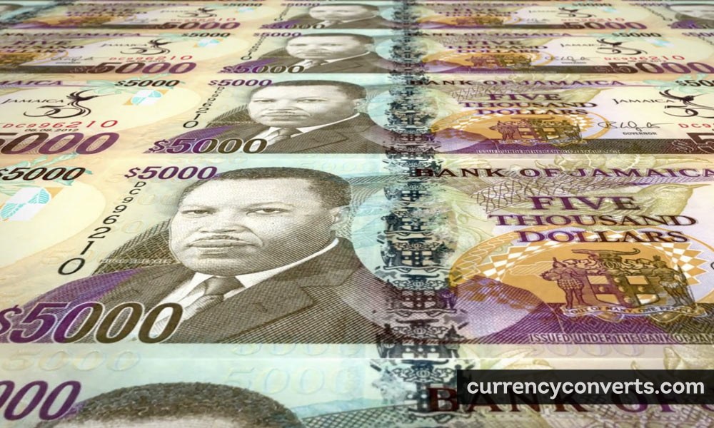 Jamaican Dollar JMD currency banknote image