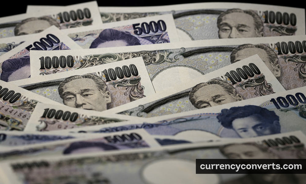Japanese Yen JPY currency banknote image