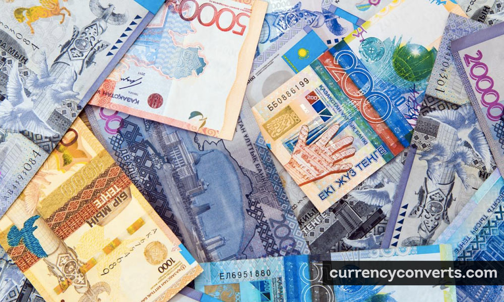 Kazakhstani Tenge KZT currency banknote image