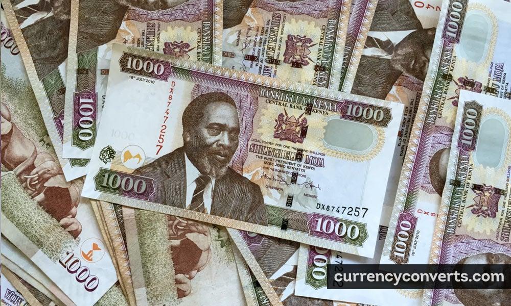 Kenyan shilling - KES money image