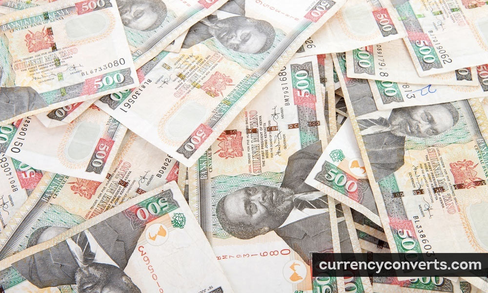 Kenyan Shilling KES currency banknote image