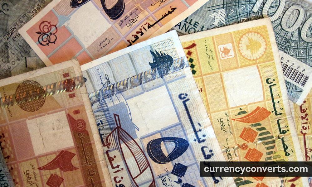 Lebanese lira - LBP money image