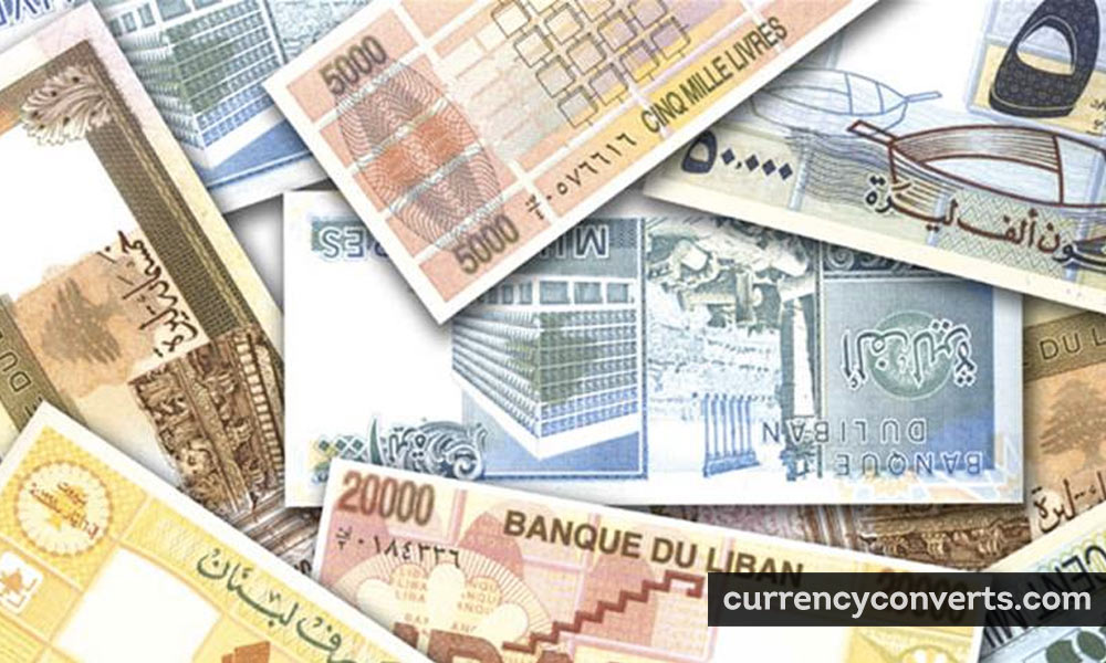 Lebanese Pound LBP currency banknote image