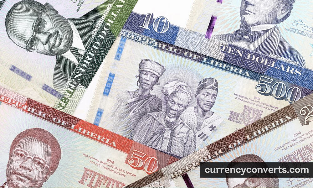 Liberian Dollar LRD currency banknote image