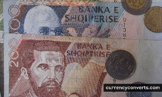 Albanian Lek - ALL money images