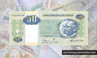 Angolan Kwanza AOA currency banknote image 2