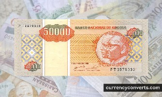 Angolan Kwanza AOA currency banknote image 3