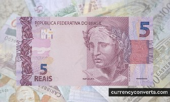Brazilian Real BRL currency banknote image 2