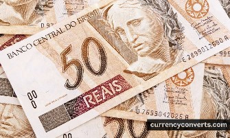 Brazilian Real BRL currency banknote image 3
