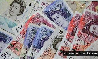 British Pound Sterling GBP currency banknote image 2