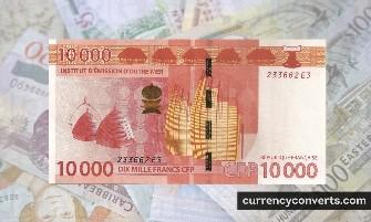 CFP Franc - XPF money images