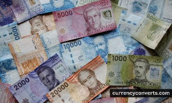 Chilean Peso CLP currency banknote image 3