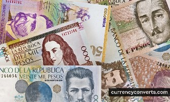 Colombian Peso COP currency banknote image 2